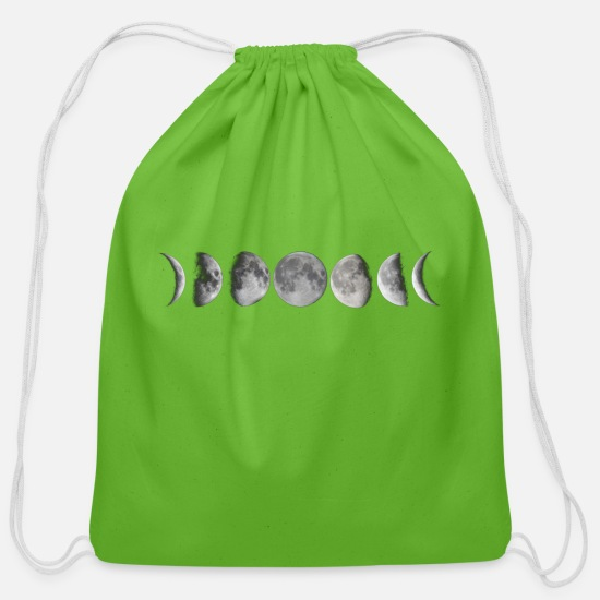 Moon Bags & Backpacks - Moon phases - Cotton Drawstring Bag clover