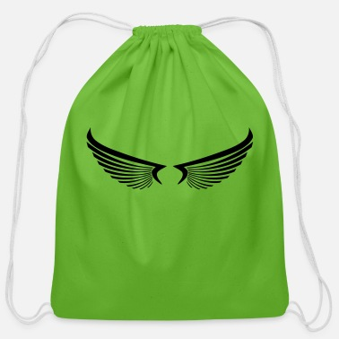 Wing wing wings - Cotton Drawstring Bag