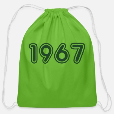 Birth 1967, Numbers, Year, Year Of Birth - Cotton Drawstring Bag