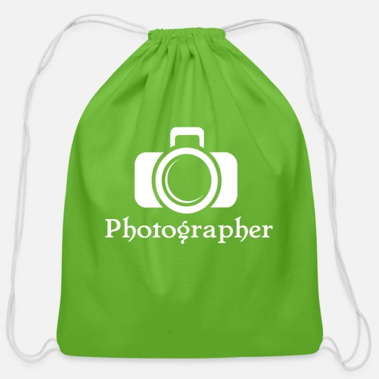 Photographer Bags & Backpacks - Photographer - Cotton Drawstring Bag clover