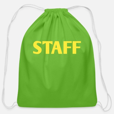 Staff STAFF - Cotton Drawstring Bag