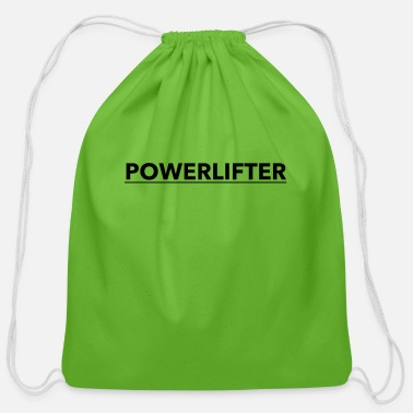 Powerlifting POWERLIFTER - Cotton Drawstring Bag