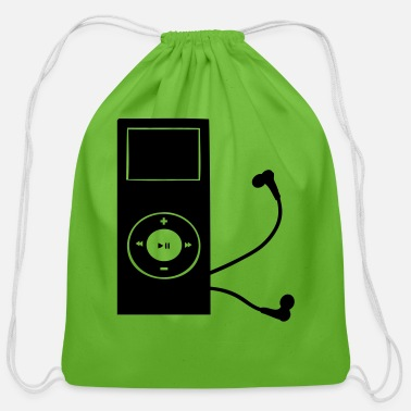 Mp3 mp3 player - Cotton Drawstring Bag