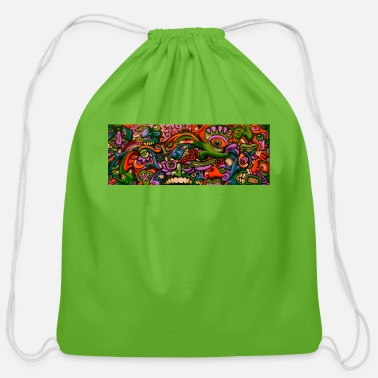 Comics Comic - Cotton Drawstring Bag