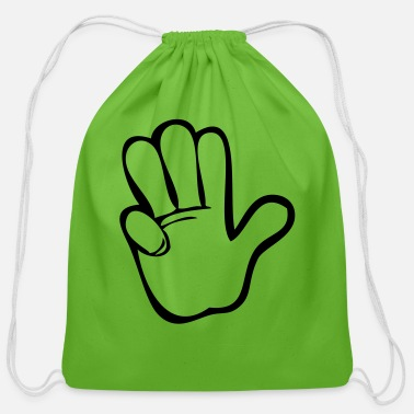 Count Counting - Cotton Drawstring Bag