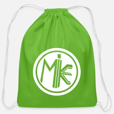 M.I.K.E. Circle - Cotton Drawstring Bag