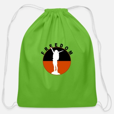 Freedom Of Expression Freedom - Cotton Drawstring Bag