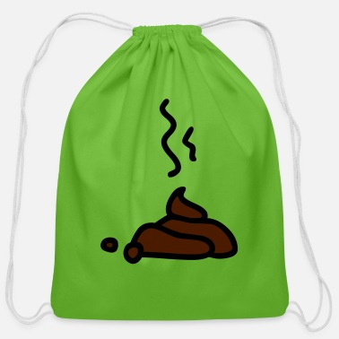 dog - Cotton Drawstring Bag