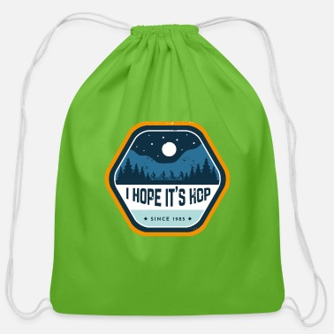 I hope it's Hop - Upsidedown - Cotton Drawstring Bag