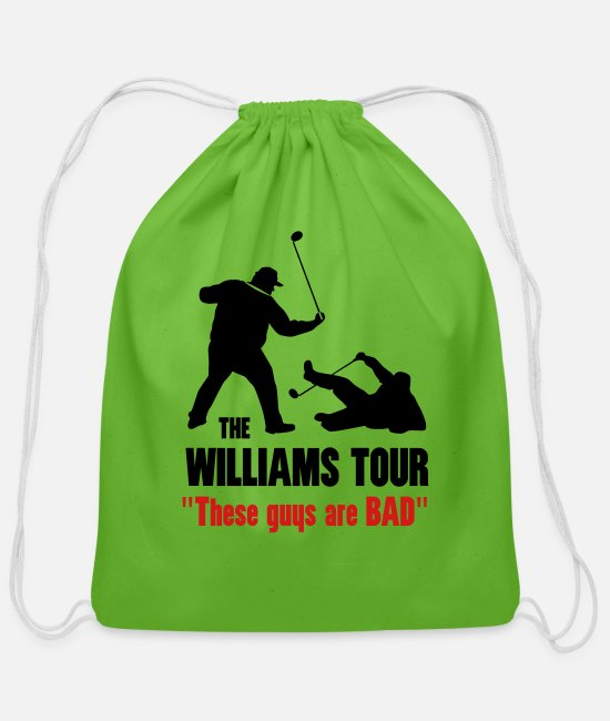 Golf Bags & Backpacks - Williams Tour - Cotton Drawstring Bag clover