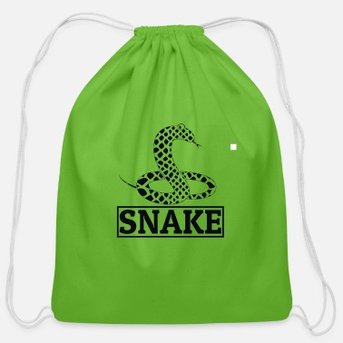 Crawl Snake Snake - Cotton Drawstring Bag