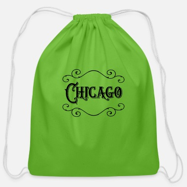 Chicago Chicago - Cotton Drawstring Bag