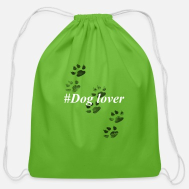 Dog Lover dog lover - Cotton Drawstring Bag