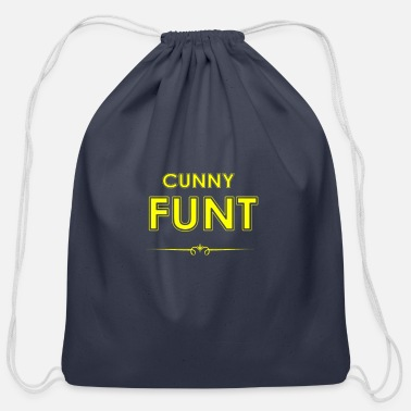 Font Funny AZ - Cotton Drawstring Bag