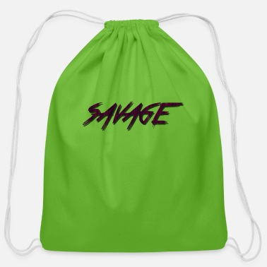 Samsung-cases SAVAGE Red case, iphone, samsung, cups - Cotton Drawstring Bag