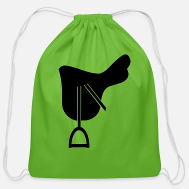 Saddle saddle - Cotton Drawstring Bag