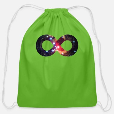 Symbol Infinity-Symbol | Monocerot - Cotton Drawstring Bag