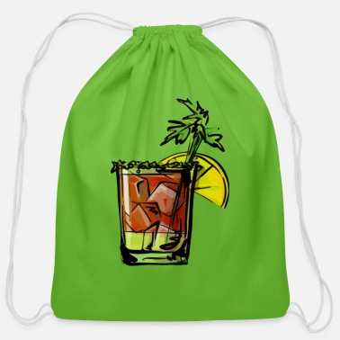 Tipple Bloody Mary cocktail - Cotton Drawstring Bag