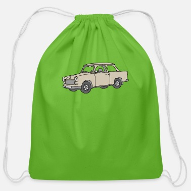 Trabant (papyrus car) - Cotton Drawstring Bag