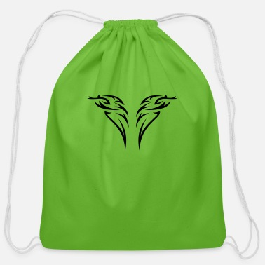 Ornament tattoo - Cotton Drawstring Bag