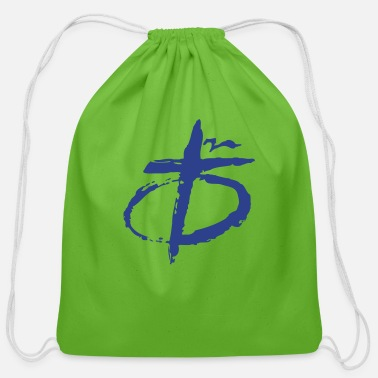Cross Christianity Christian cross - Cotton Drawstring Bag