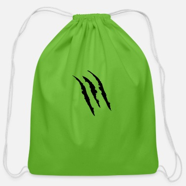 Mark Something Claw Marks - Cotton Drawstring Bag