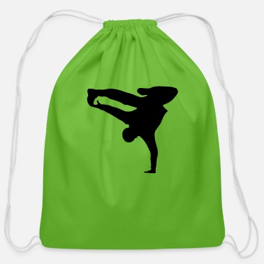 B Breakdancer, b-boy - Cotton Drawstring Bag