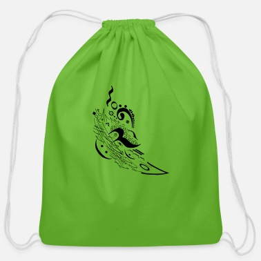 Music Motion - Cotton Drawstring Bag