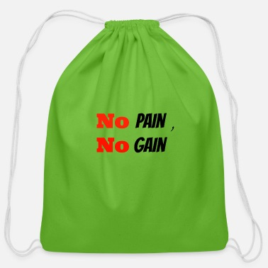 Funny Gym gym - Cotton Drawstring Bag