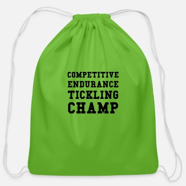 Tickling Competitive Tickling - Cotton Drawstring Bag