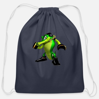 Fan Club The crocodile fan club - Cotton Drawstring Bag