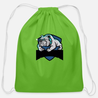 pitbull - Cotton Drawstring Bag