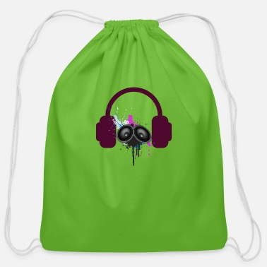 Music - Cotton Drawstring Bag