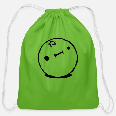 Citrus Fruits Citrus fruit with - Cotton Drawstring Bag