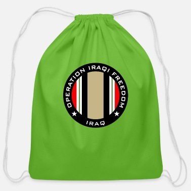 Oif OIF Iraq - Cotton Drawstring Bag