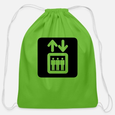Lift Elevator elevator - Cotton Drawstring Bag