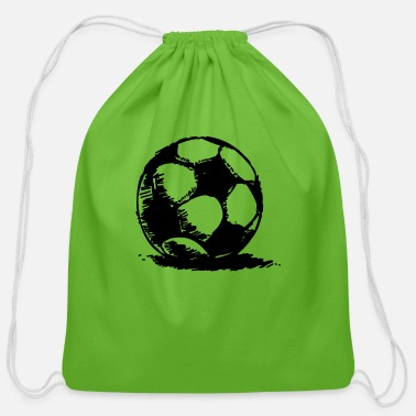 Soccer soccer - Cotton Drawstring Bag