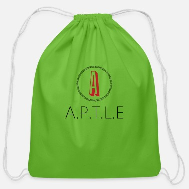 Base Line aptleapparel - Cotton Drawstring Bag