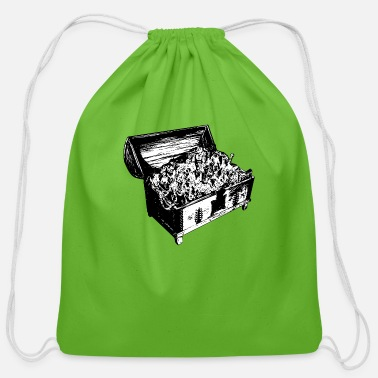 Treasure treasure - Cotton Drawstring Bag