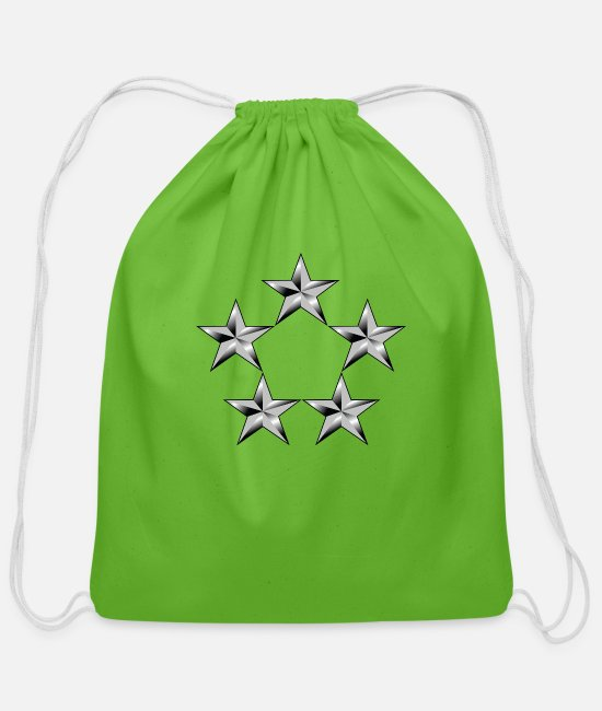 Office Bags & Backpacks - army_o11_ga - Cotton Drawstring Bag clover