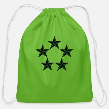 Rank General General of the Army GA Rank, Mision Militar ™ - Cotton Drawstring Bag