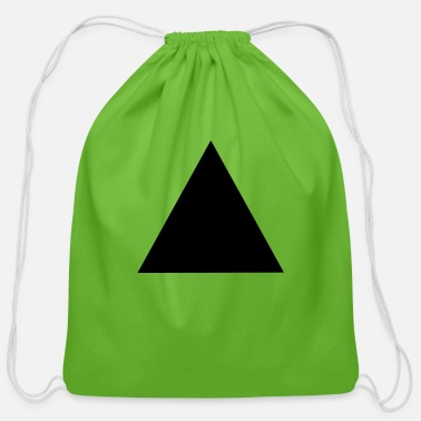 Triangle Triangle - Cotton Drawstring Bag