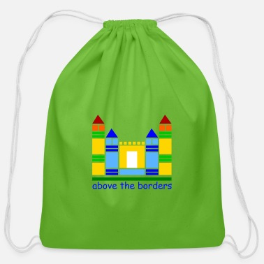 Childhood childhood castle - Cotton Drawstring Bag