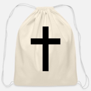 Tradition Traditional Cross - Cotton Drawstring Bag