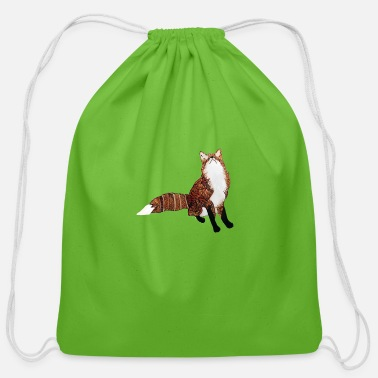 Felix Foxy Felix - Cotton Drawstring Bag