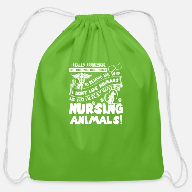 Tech VET TECH TEE SHIRT - Cotton Drawstring Bag