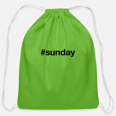 Sunday SUNDAY - Cotton Drawstring Bag