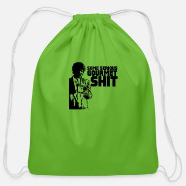 Gourmet Some serious gourmet shit - Cotton Drawstring Bag
