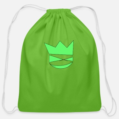 King Troll King - Cotton Drawstring Bag