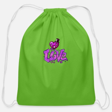 Dancing Love New Style - Cotton Drawstring Bag